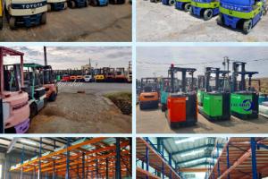 Đơn hàng sản xuất, sửa chữa xe nâng 3 năm đi Chang Hoa, Đài Loan